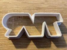 TVR Car Logo Cookie or Fondant Cutter Sugarcraft Cake  3D Printed