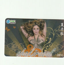 Shakira Rare Phone Card