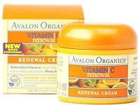Avalon Organics Vitamin C Renewal Facial Cream 2 oz (Pack of 3)