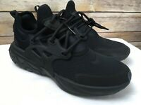 Nike React Presto Mens/Youth Size 6.5 Women's 8 Triple Black Running Sneakers