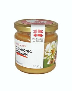 Danish clover honey 250g, Pure, Raw, Natural, Unheated Honey