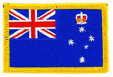 FLAG PATCH PATCHES Victoria IRON ON EMBROIDERED AUSTRALIA STATE Territory