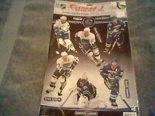BRAND NEW NHL HOCKEY FAT HEAD TEAM SET (VANCOUVER CANUCKS)