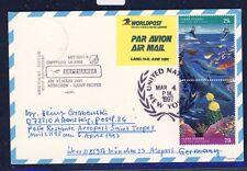 52800) LH FF München - St.Tropez France 6.4.97, card UNO New York Animal water