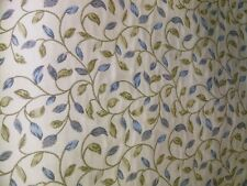 CHESS DESIGNS ROMA AZURE DUCKEGG CERVINO CURTAIN UPHOLSTERY FABRIC PER METRE