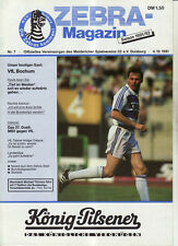 BL 91/92 MSV Duisburg - VfL Bochum