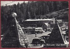PISTOIA MODENA ABETONE 17 RISTORANTE Cartolina FOTOGRAFICA viaggiata 1961