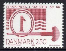Denmark MNH 1983 50th Anniversary of the first Danish Stamp in Steel Engraving
