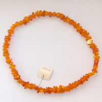 41 gr. Natural Baltic Amber Vintage Necklace Honey Sunny Genuine Amber beads