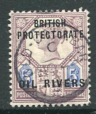 OIL RIVERS: (12989) OLD CALABAR postmark/cancel