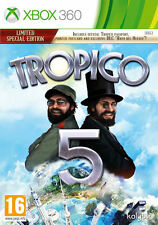 Tropico 5 Limited Special Edition Xbox 360 * NEW SEALED PAL *