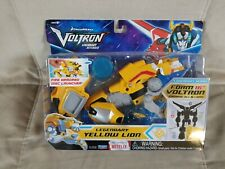 Voltron Legendary Defender Of The Universe Yellow Lion Action Figure Kids Toy