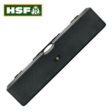 Double Rifle Case Shotgun Hard Plastic 2 Gun Box Flight HSF Defiance 136x30x13cm