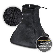 Schaltsack Schaltmanschette für Ford Galaxy 2006-2013 Echtes Leder schwarz