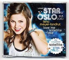 Lena Meyer-Landrut Maxi-CD Love Me / Satellite / Bee - ESC Eurovision 2010