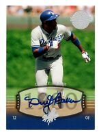 2004 Upper Deck Legends Timeless Team Autograph Dusty Baker LA  Dodgers 1980