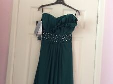 BNWT PIA MICHI COUTURE=GREEN-UK14(size3)-PROM/COCKTAIL DRESS