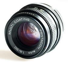 Carl Zeiss Fabriqué M42 vis Mont PENTACON Auto 50 mm f/1.8 Prime Lens