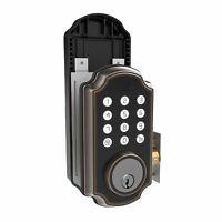 Turbolock TL116 Digital Door Lock Keypad Voice Prompt Electronic Deadbolt OBZ