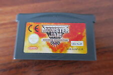 MONSTER JAM  MAXIMUM DESTRUCTION         -----   pour GAME BOY ADVANCE  ----