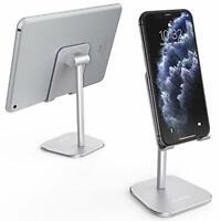 ATUMTEK Universal Cell Phone Stand, Solid Aluminium Alloy Adjustable Desktop
