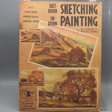 Vintage Walter T. Foster Outdoor Sketching Indoor Painting Eugene Frandzen