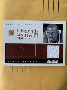 2004-05 Skybox LE Limited Edition Anfernee Hardaway L.E.gends of the Draft /50
