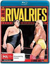 WWE -  The Top 25 Rivalries In Wrestling History BLU RAY NEW SEALED
