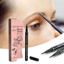Cosmetic Waterproof Long-lasting Tattoo Pen 7 Days Brown Eyebrow Pencil Liner