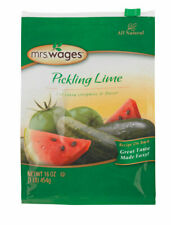 16 oz MRS WAGES Pickling Lime Preserving Food for Extra Crispness 1 lb FAST SHIP