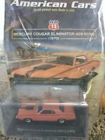 MERCURY COUGAR ELIMINATOR 429 BOSS AMERICAN CARS COLLECTION#13 MIB DIE-CAST 1:43