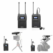 BOYA BY-WM8 Pro-K1 Uhf sans Fil Microphone Système 48 Canaux Canon IPHONE