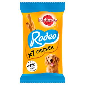 Pedigree Rodeo x7 with Chicken Dog Treats 123g