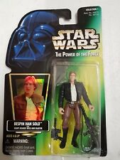 Star Wars - Power of the Force Bespin Han Solo figurine Hasbro 1997