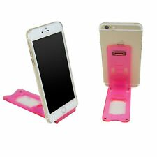 Brand New Pink Foldable Stand Holder Mobile Stand For Samsung note 2, S3,S2,S1