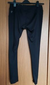 Womens Black Puma Running Leggings Dry Cell Size 14