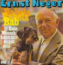 """7"""" Ernst Neger/Babela Babela Bab"""