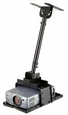 Elitech Universal Projector Ceiling Mount Bracket With Projector Tray