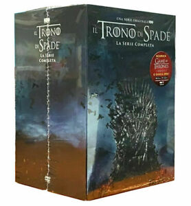 IL TRONO DI SPADE - GAME OF THRONES - LA SERIE COMPLETA - 38 DVD