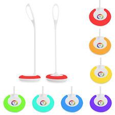 USB LED Flexible Schreibtischlampe Lampe Tischlampe Leuchte Büroleuchte Dimmbar