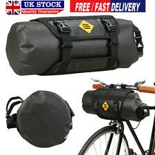 B SOUL Waterproof Bike Front Tube Bag Handlebar Basket Pack Frame Pocket Pannier