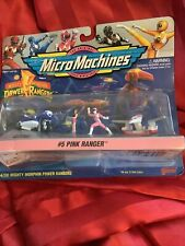 MIGHTY MORPHIN POWER RANGERS #5 PINK RANGER MICROMACHINES 1994 Micro Machines