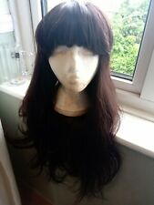Lush Wigs Forest Dweller Gorgeous Long Brunette Wig Good Used Condition.