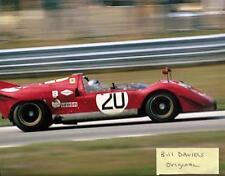 Pedro Rodriguez NART Ferrari 512S Road America Can-Am Race 1970  8 X 10 PHOTO 1