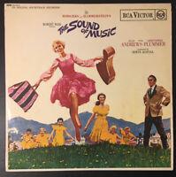 "THE SOUND OF MUSIC Vinyl OST 12"" LP w/ Insert 1965 SB-6616 - VG/VG"