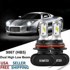 9007 LED Headlights Bulbs for Ford F250 F350 Super Duty 1999-2004 High Low Beams