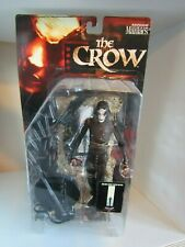 Movie Maniacs 2 - The Crow - Eric Draven - McFarlane Action Figure - Rare Boxed