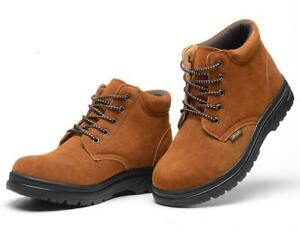 MENS SAFETY BOOTS LADIES TRAINERS WOMENS WORK SHOES HIKING ANKLE SIZE 2014