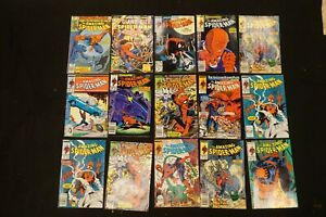MARVEL COMICS LOT OF 15 THE AMAZING SPIDER-MAN & GIANT SIZE SPIDER-MAN (26)