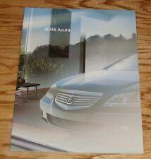 Original 2006 Acura Full Line Sales Brochure 06 RL TL MDX TSX RSX